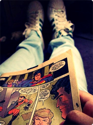 Comic Book Struck by SheWatchedTheSky.