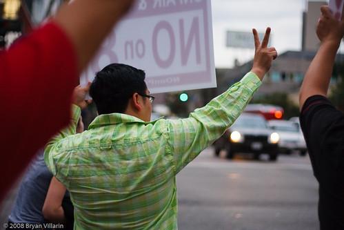 Prop 8 peaceful protest (305/366)