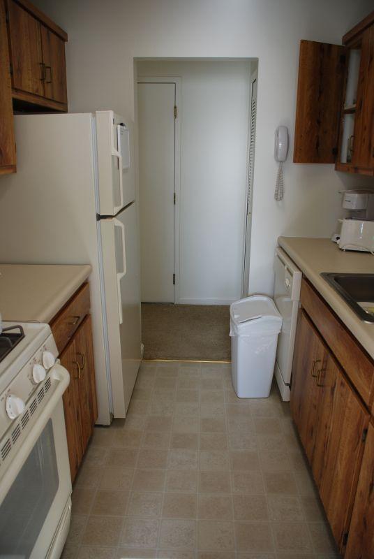 Temporary Housing--Kitchen