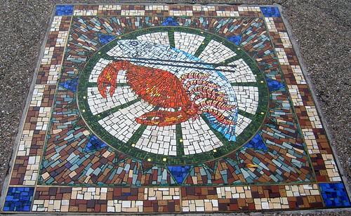 Seafood Dinner Mosaic