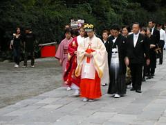 Kamakura, traditional wedding