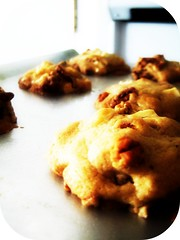 One Bowl White Chocolate Pecan Cookies