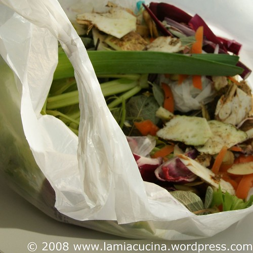 Gemüseabfälle