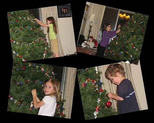 Decorating Tree 2008 Collage