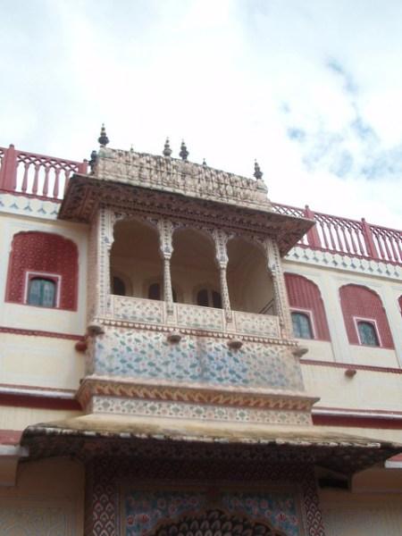 Balconada del Palacio de Jaipur
