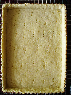 Baked pastry dough