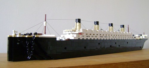 Microscale LEGO RMS Olympic