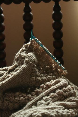 When Laura Belle stopped knitting