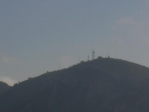 Vista de La Antena en la lejania