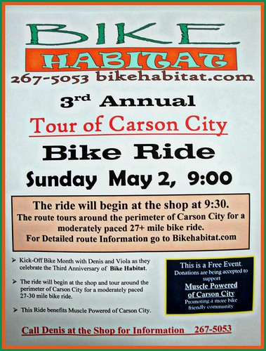 3rd Annual Tour of Carson City