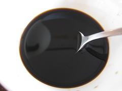 Zwarte rijstazijn