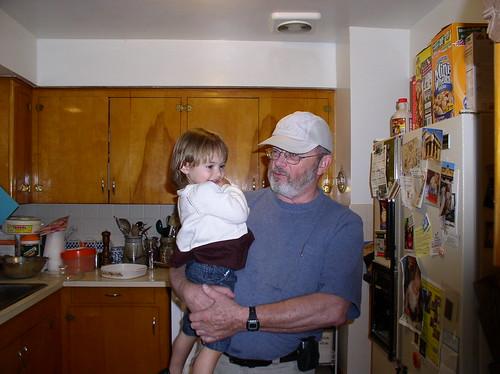 Grandpa & Tegan
