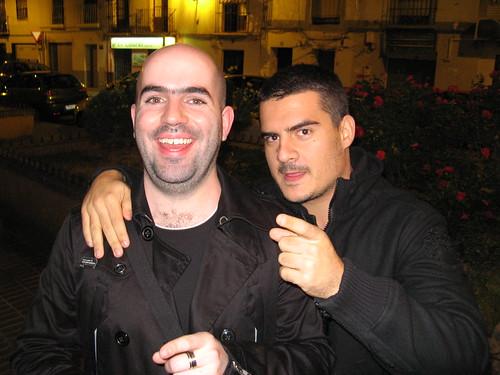 David Martñinez y Salvador de la Vega