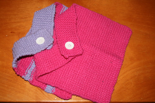 Bibs for Amy's baby girl