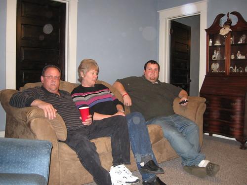 Dad, Mom, Brad