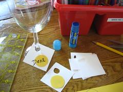 Book Club Wine Charms