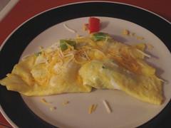 I made an omelet!