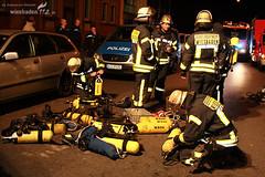 Wohnungsbrand Hinterhaus Adolfstraße 20.05.08