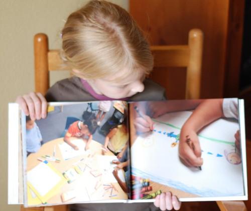 kindergarten book photo pages
