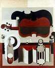 Le Corbusier. Red Violin, 1920.