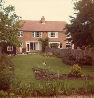 the garden of the house i grew up in - at least till i was 10. see, were all gardeners in our family.