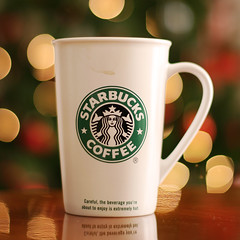 Starbucks' Christmas Bokeh