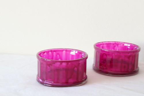 Hot pink pots