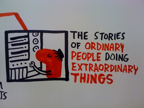 stories of ordinary people doing extraordinary things