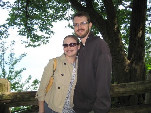 Craig and I at Grant Park