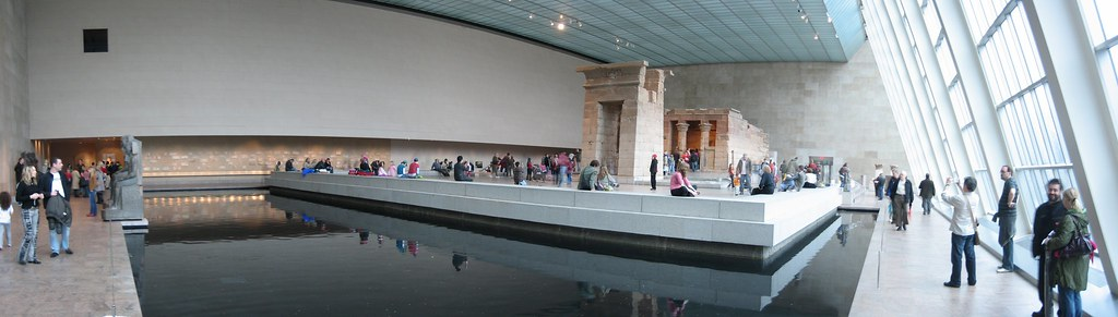 Egyptian tomb panorama at New York Metropolitan Museum of Art