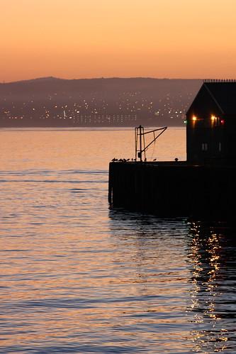 Sunrise Over Municipal Wharf