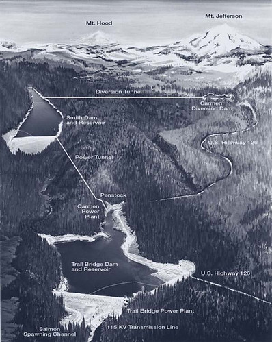 Carmen Smith Hydroelectric Project