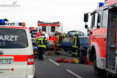 Schwerer Verkehrsunfall L3028 Delkenheim-Nordenstadt 11.11.08
