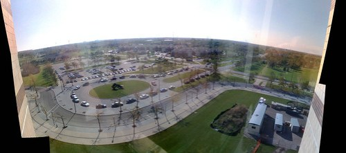 Panorama: Top floor of Natural Science Complex