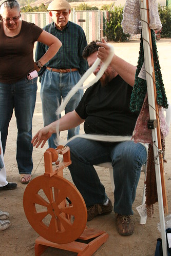 Spinning, its a spectator sport.