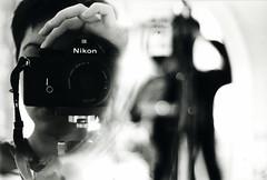 Le vieux self au Nikon du padre