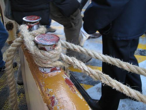 Vaporetto rope technique