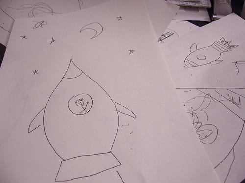 Rocket sketch