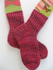Knitty Sock Swap Socks1