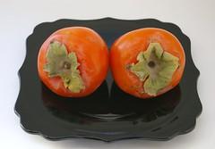 2 persimmons