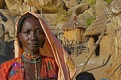Nuba village - Kordofan - Sudan