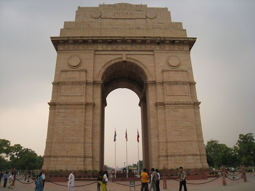 The imposing India War Memorial