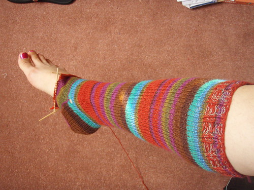amost finished sock.JPG