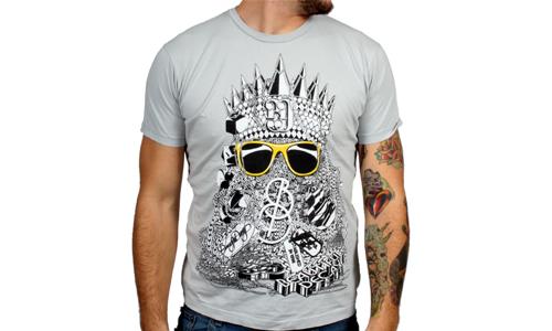 "Alex Trochut ""Chains"" T-Shirt by Beautiful Decay Apparel"