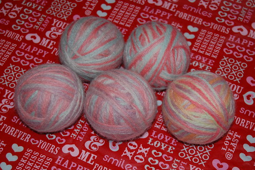 New Wool Dryer Balls
