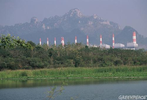 โรงไฟฟ้าถ่านหินแม่เมาะ ลำปาง Mae Moh Coal Plant, Lampang province