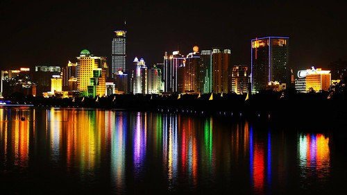 City Lights In Nanning