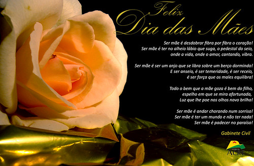 Feliz Dia das Mães. (3/6)