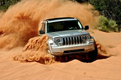 Jeep Liberty Prototype in Moab