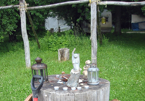 20080702 - X-Day at Brushwood - 160-6017 - pagan mini-shrine - please click through to leave a comment on FlickR